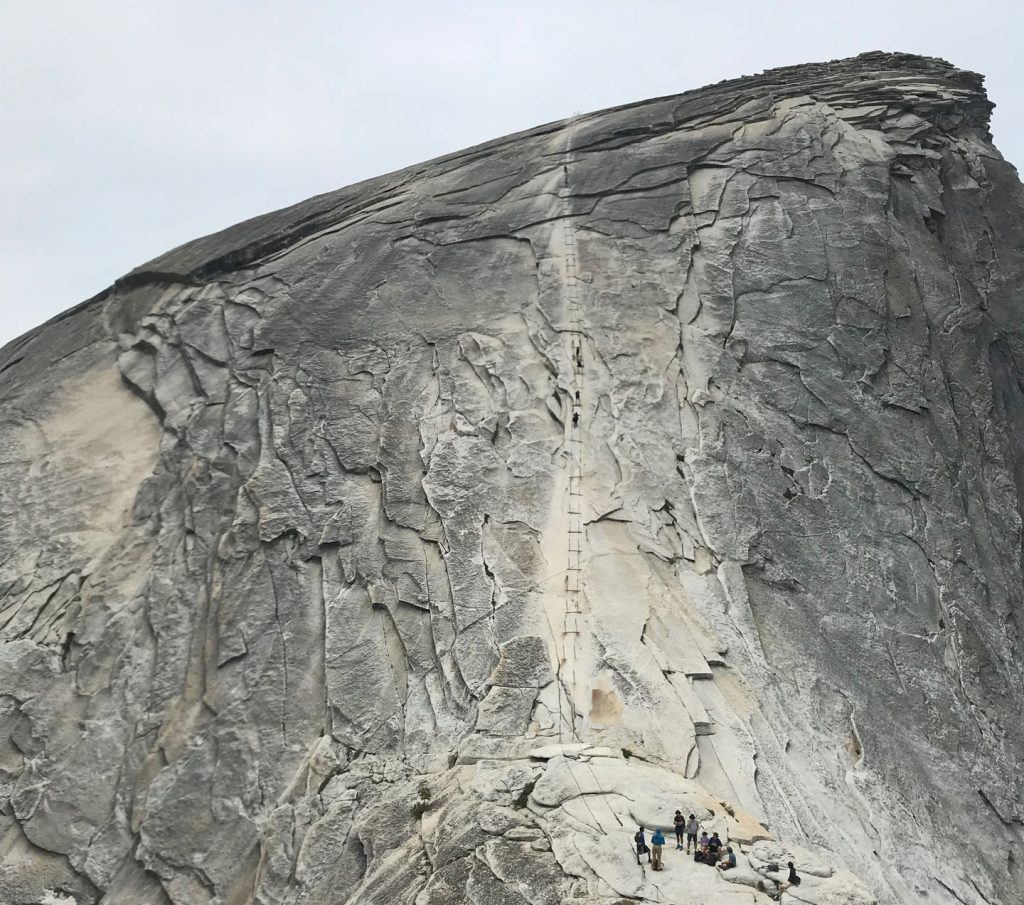 A Good Look at the Half Dome Cables