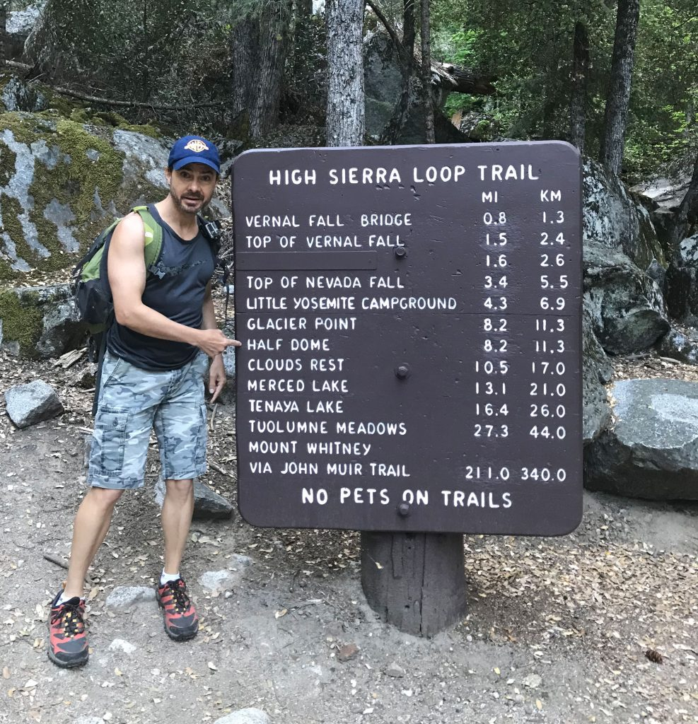 8.2 Miles to Half Dome