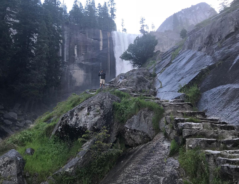 Vernal Falls - Mist Trail